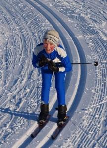 Tobias Eiksund er kjent for å utnytte glien spesielt godt i utforkjøringene.
