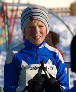 Tobias Eiksund var usikker på formen før start på dagens renn.