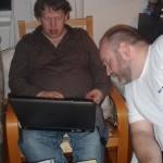 Bergfinn og Sveinung diskuterer musikk til vielsen