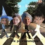 """Alle Barna med singlen """"Ole på Vinmonopolet"""""""
